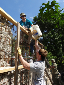 Sean and Justin rebuilding Haiti