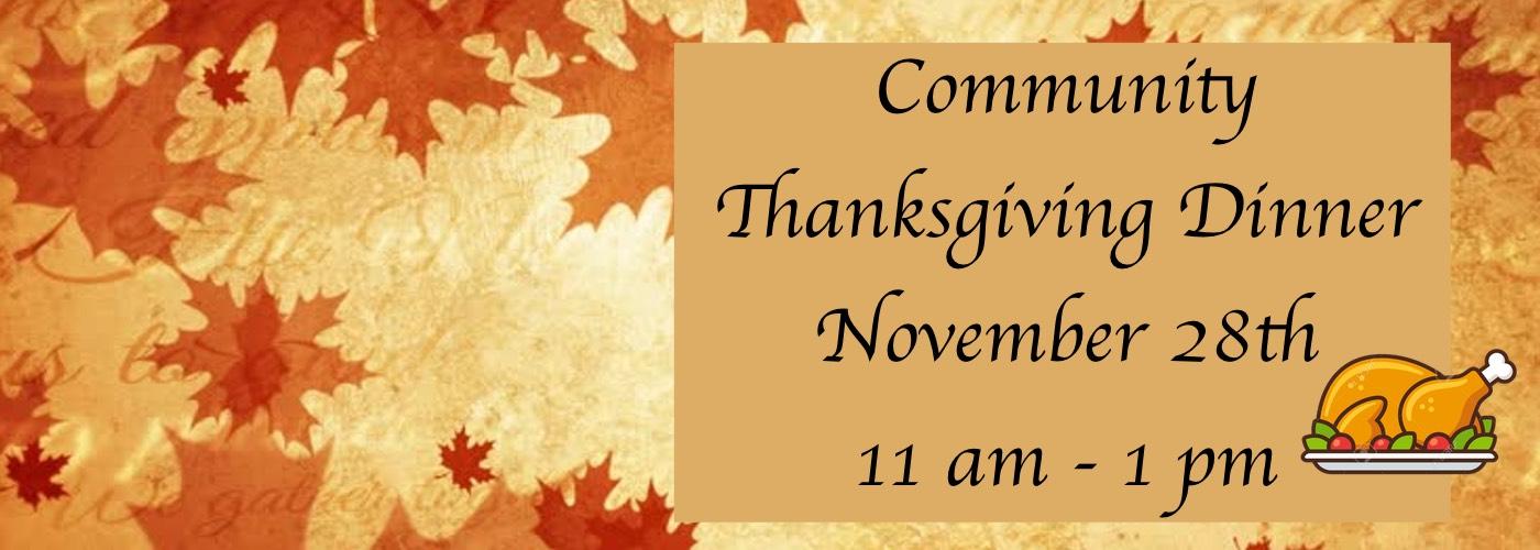Chandler Community Thanksgiving Dinner