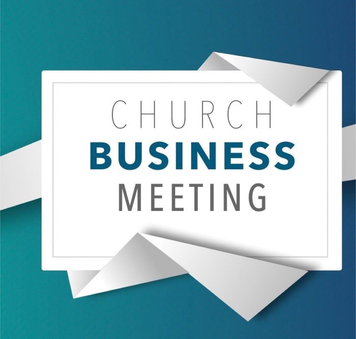 Rescheduled January Business Meeting